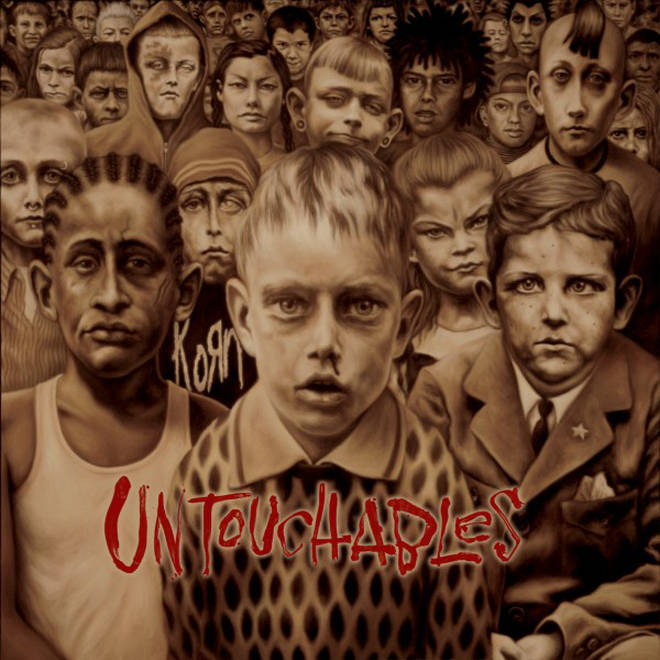 Korn - Untouchables album cover