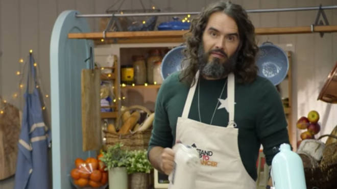 Russell Brand among the stars in Channel 4's The Great Stand Up To Cancer Bake Off