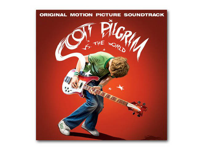 Scott Pilgrim Vs The World cover art
