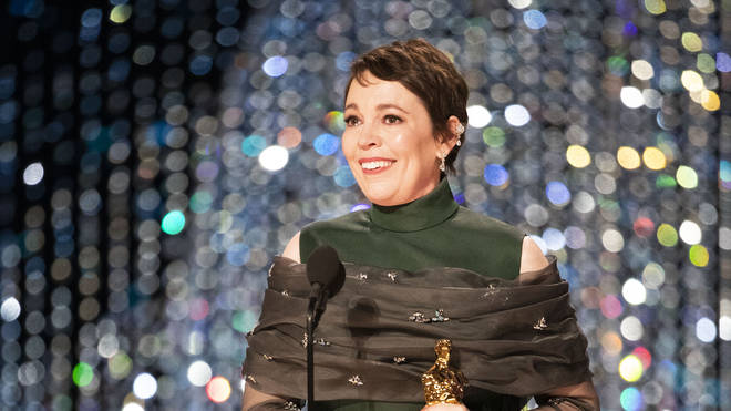 Olivia Colman delivers charming speech as she wins the Oscar for Lead Actress for her role in The Favourite