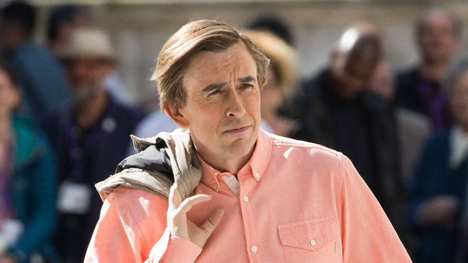 Steve Coogan as Alan Partridge in BBC's This Time