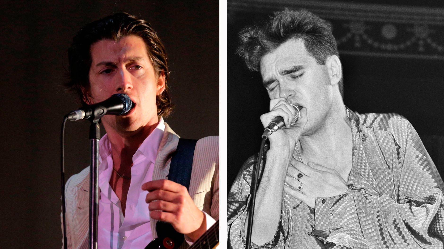 Alex Turner channels young Morrissey in photo with fan in