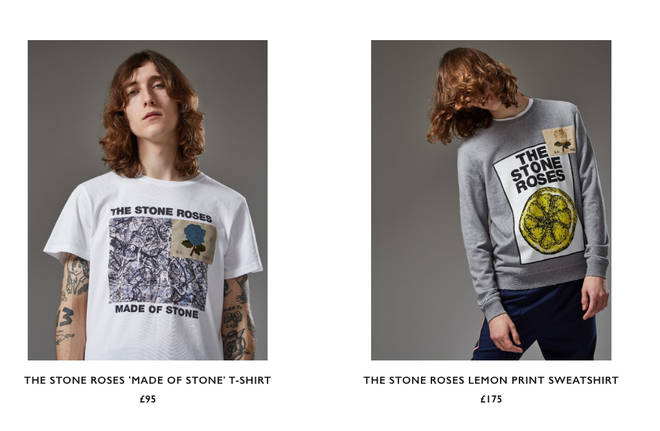 Kent & Curwen x The Stone Roses capsule collection