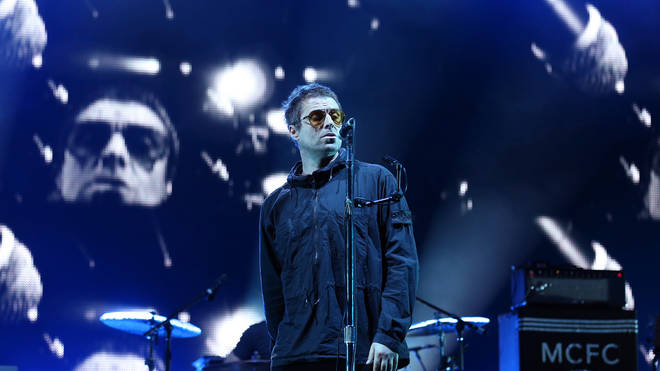 Liam Gallagher performs live at RiZE Festival 2018