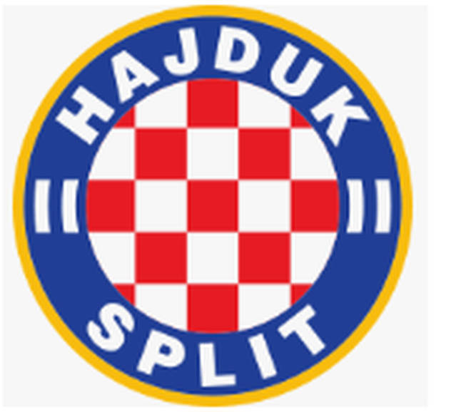The Hajduk Split crest, which reports claim Liam Gallagher has ripped-off for his Pretty Green label