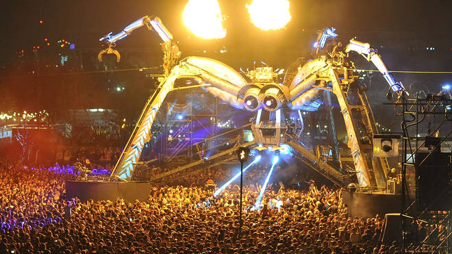 The Arcadia Spider at their 10th Anniversary Metamorphosis show at Queen Elizabeth Park on 5 May 2018
