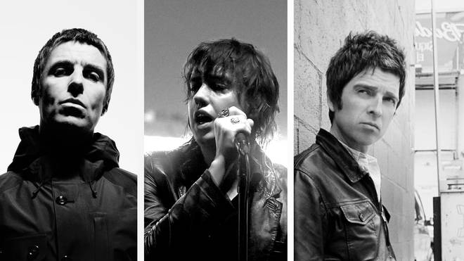 Liam Gallagher, The Strokes Julian Casablancas & Noel Gallagher