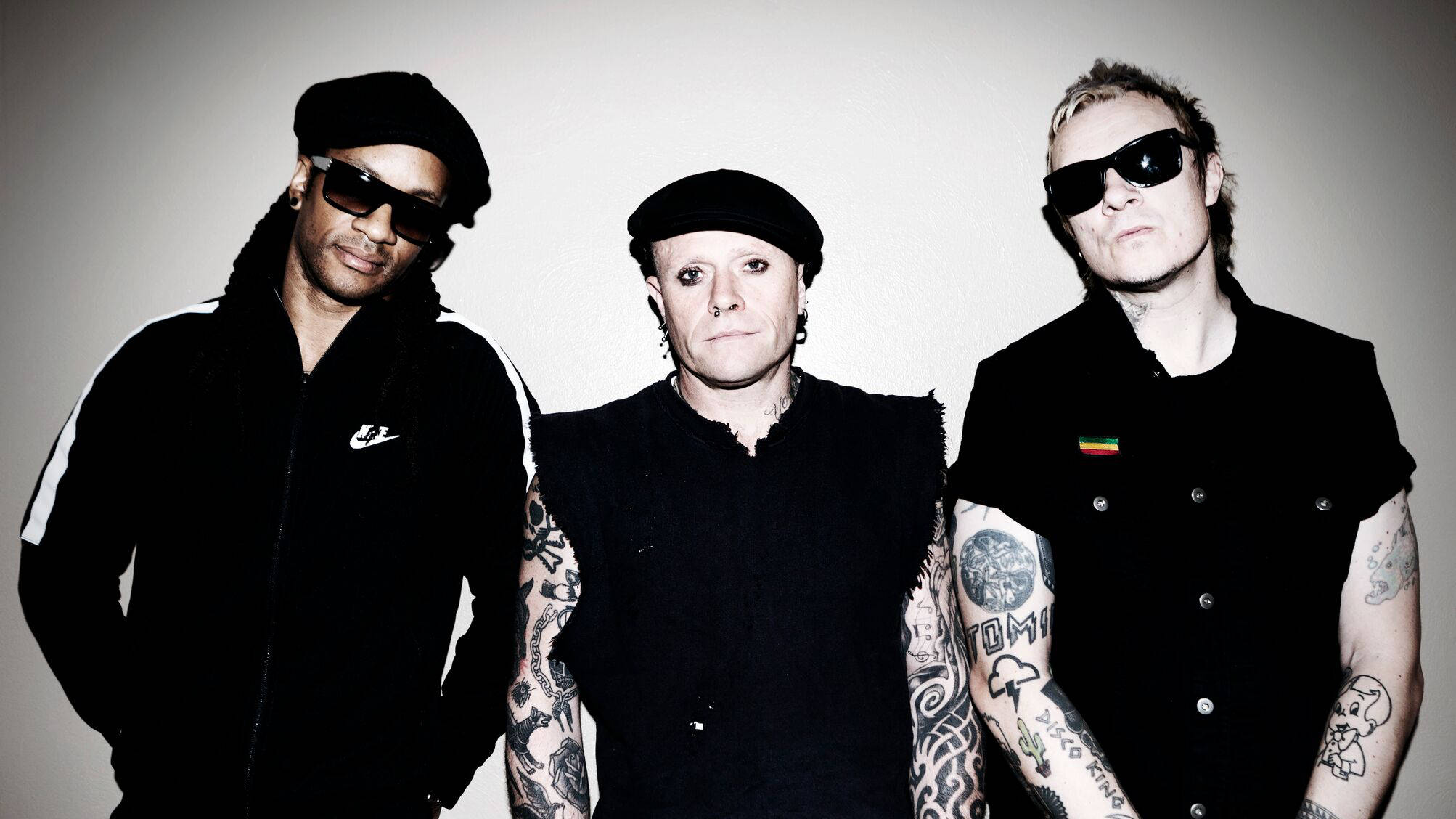 The Prodigy praise mural of Keith Flint commissioned by Braintree Town F.C.