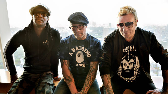 The Prodigy's Maxim, the late Keith Flint and Liam Howlett