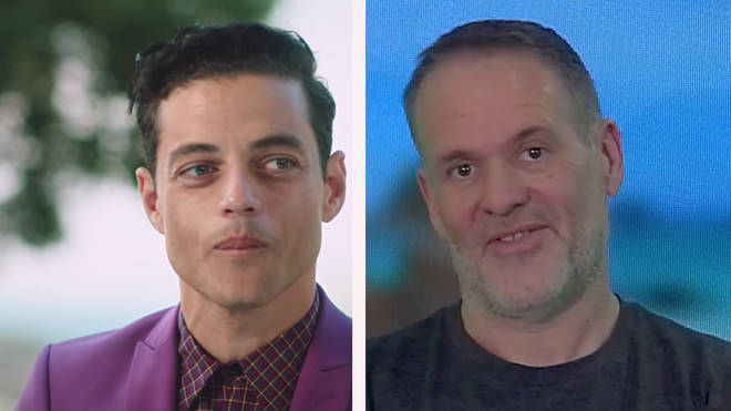 "Rami Malek in the Mandarin Oriental Hotels ""I&squot;m a fan"" advert and Chris Moyles"