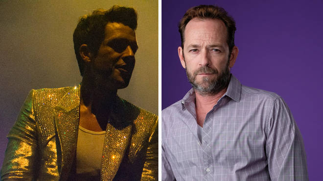 The Killers frontman Brandon Flowers and late Beverly Hills 90210 actor Luke Perry