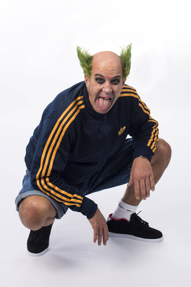 Johnny Vaughan as Keith Flint of The Prodigy