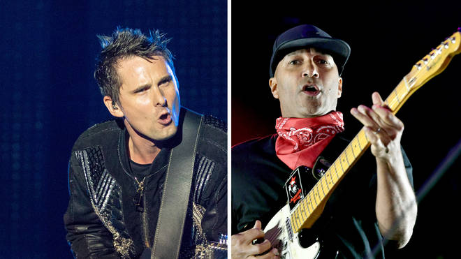Muse's Matt Bellamy and Rage Against The Machine's Tom Morello