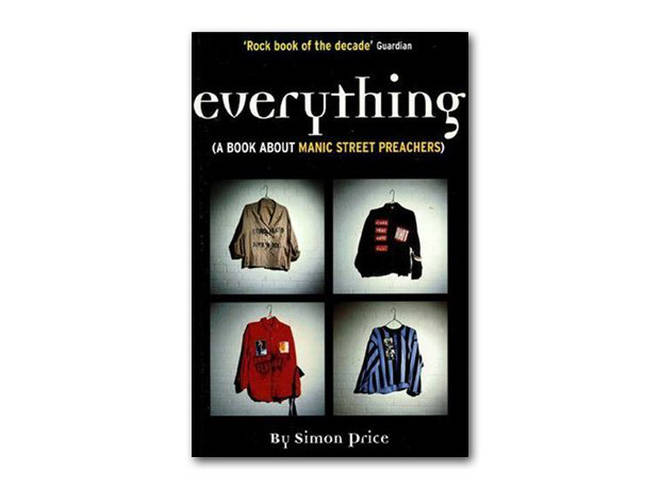 Simon Price - Everything (A Book About Manic Street Preachers) (1999)