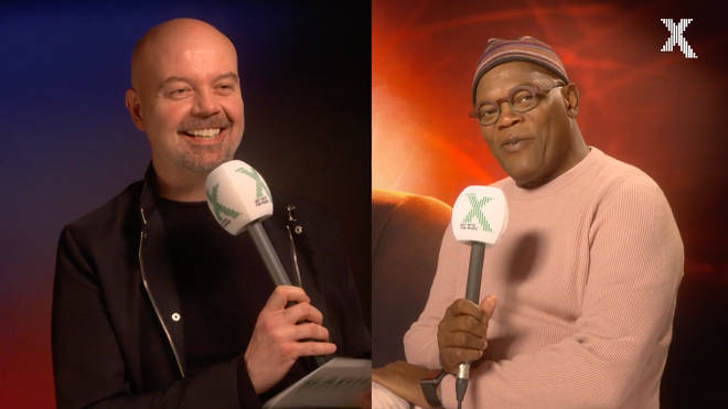 Dom and Samuel L Jackson bond over their baldness