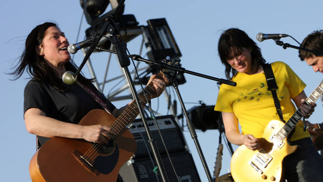 Kim and Kelley Deal of The Breeders