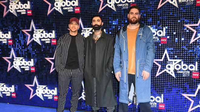 Rudimental at the Global Awards 2019