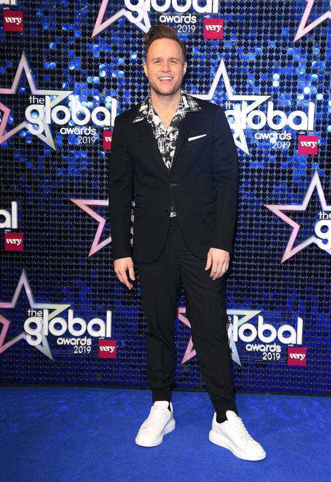 Olly Murs at the Global Awards 2019