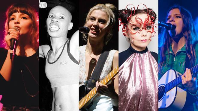 Lauren Mayberry, Skin, Ellie Rowsell, Bjork and Jade Bird