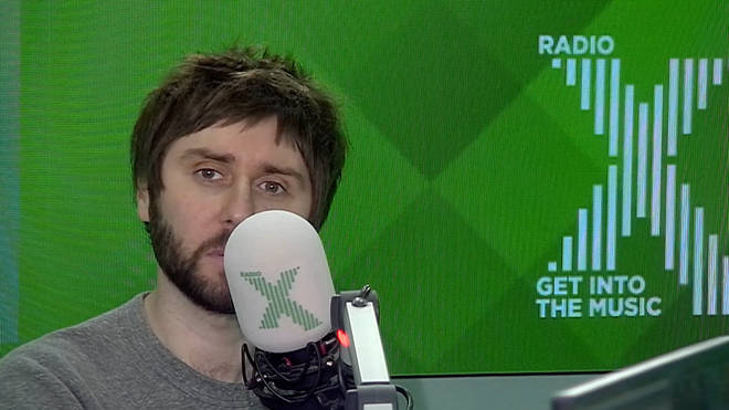 "James Buckley talks to Chris Moyles about the ""disastrous"" Inbetweeners reunion"