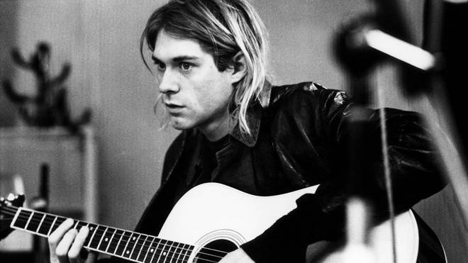 Kurt Cobain recording in Hilversum Studios 1991