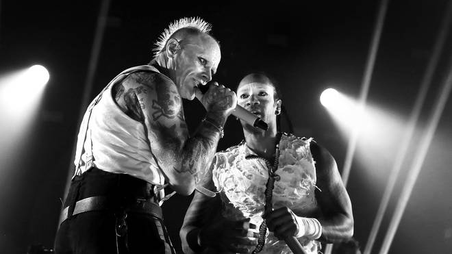 The Prodigy's Keith Flint and Maxim at O2 Academy Brixton in 2017