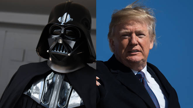 Darth Vader and Donald Trump