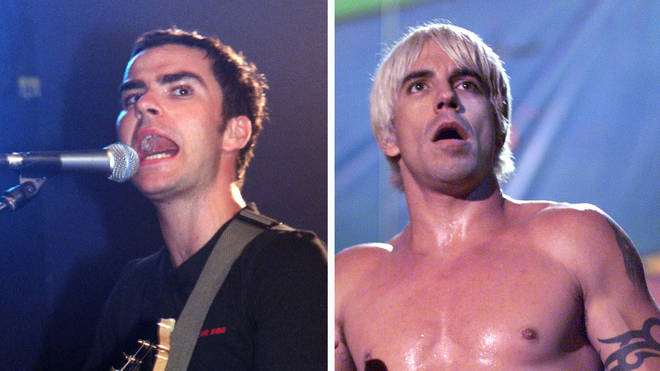 Stereophonics Kelly Jones and Red Hot Chili Peppers Anthony Kiedis