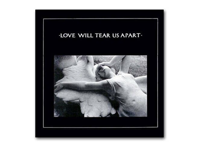 "Joy Division - Love Will Tear Us Apart 12"" cover"