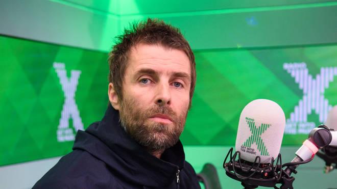 Liam Gallagher at Radio X