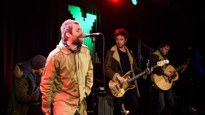 Liam Gallagher live at Radio X