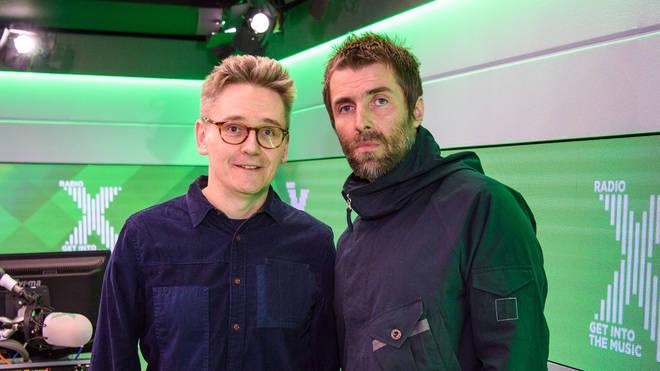 John Kennedy and Liam Gallagher