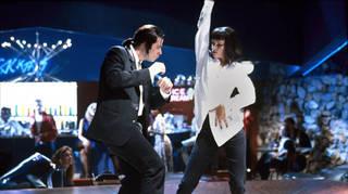 John Travolta and Uma Thurman dance in Pulp Fiction (1994)