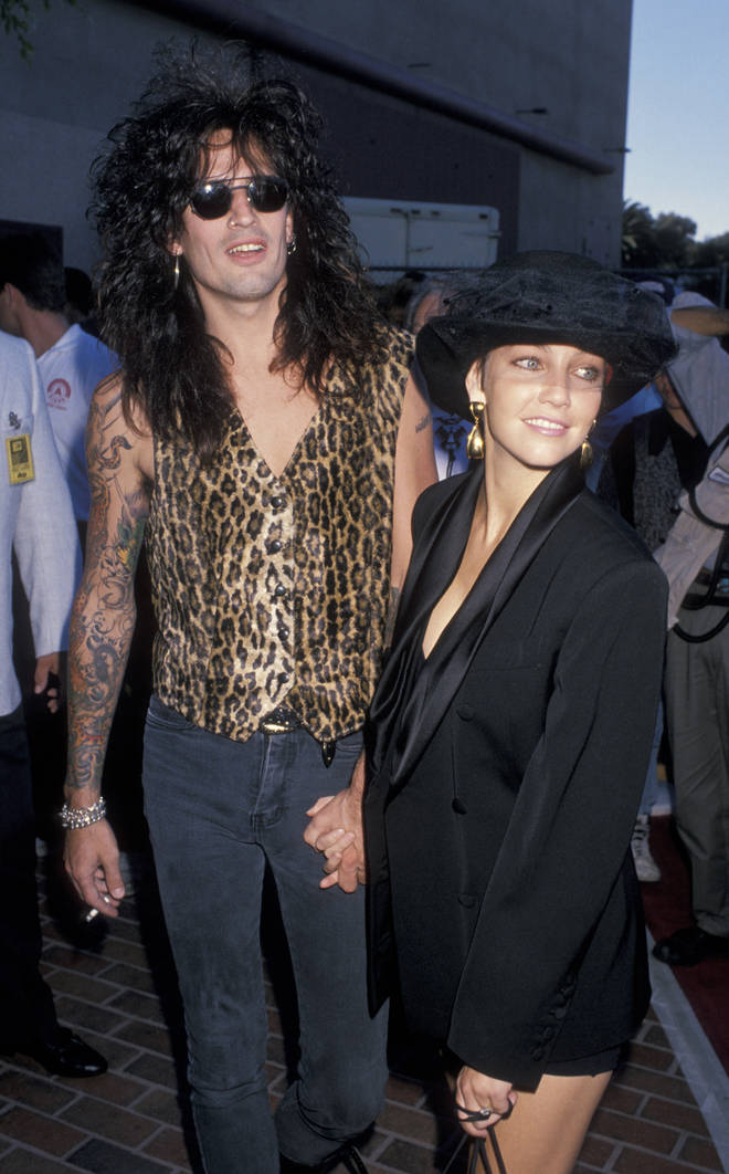 Tommy Lee's second wife was actress, Heather Locklear