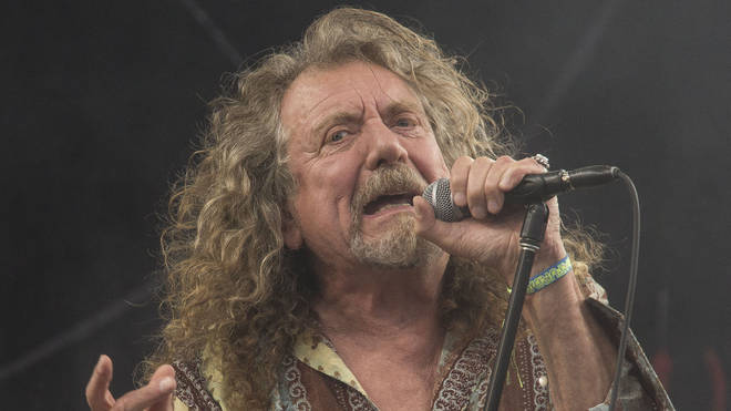 Robert Plant of Led Zeppelin performs in 2014
