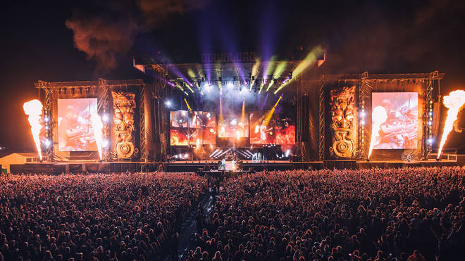 Avenged Sevenfold play Download Festival 2018