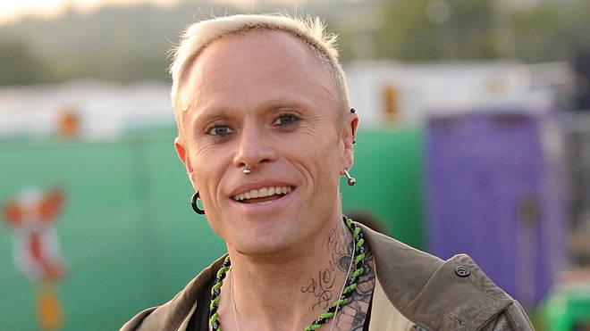 Keith Flint of The Prodigy at Glastonbury in 2009