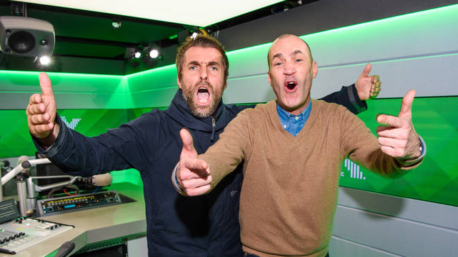 Liam Gallagher and Johnny Vaughan