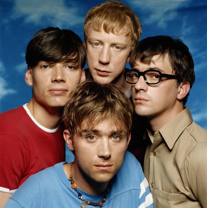 Blur in 1994: Alex James,Dave Rowntree, Graham Coxon and Damon Albarn.