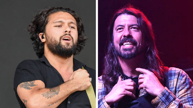 Gang of Youths frontman David Le'aupepe and Foo Fighters frontman Dave Grohl