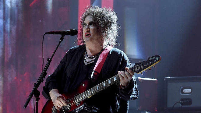 Robert Smith of The Cure performs at 2019 Rock & Roll Hall Of Fame Induction Ceremony - Show at Barclays Center on March 29, 2019 in New York City