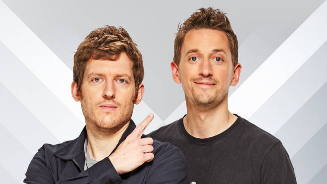 Elis James and John Robins on Radio X