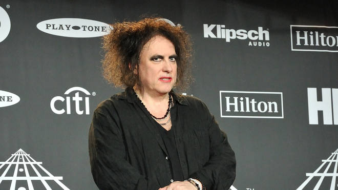 The Cure's Robert Smith attends the 2019 Rock & Roll Hall of Fame Induction Ceremony