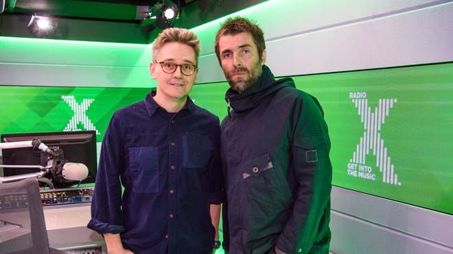 Liam Gallagher and John Kennedy, Radio X
