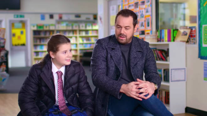 Danny Dyer and his daughter Sunny in Channel 4's Let's Talk About Sex trailer