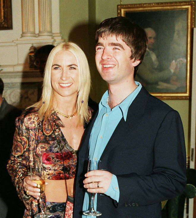 Noel Gallagher and Meg Matthews, 1997