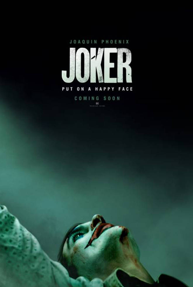 The poster for Joker film starring Joaquin Phoenix