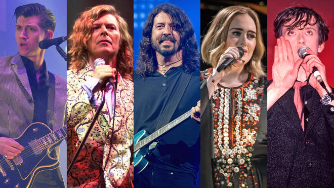 Arctic Monkeys, David Bowie, Foo Fighters, Adele and Pulp at Glastonbury