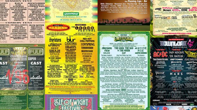 Classic festival line-ups