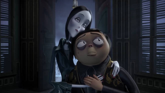 Screengrab of The Addams family 2019 animated film